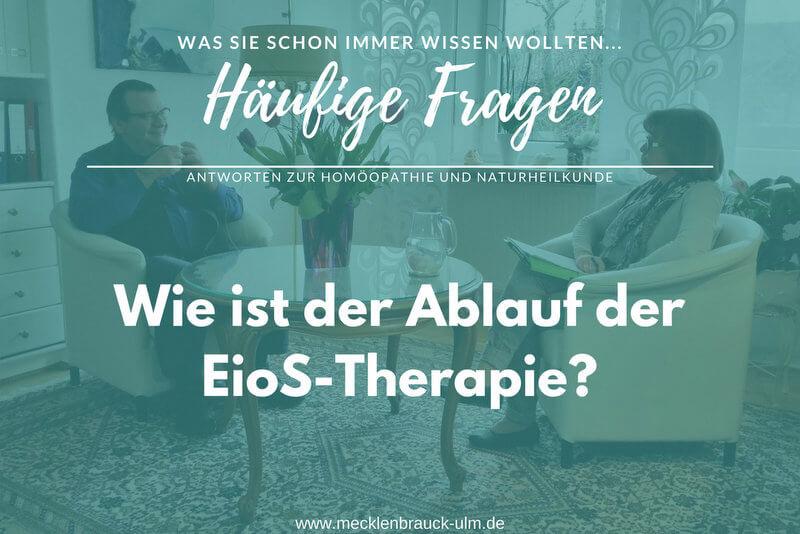 Wie ist der Ablauf der EioS-Therapie?