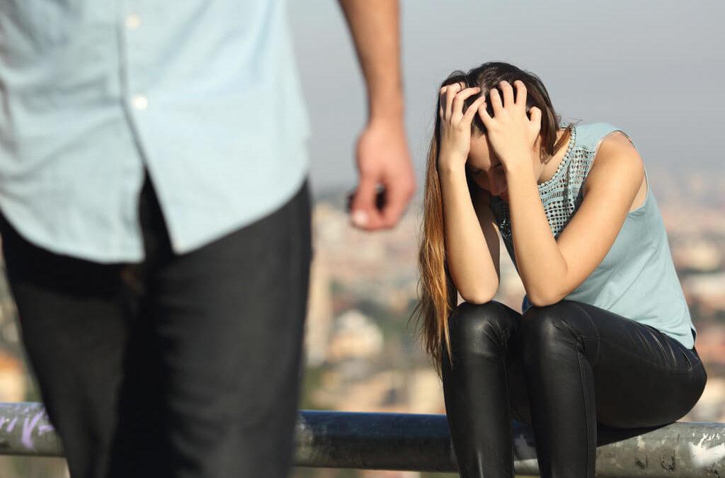 Anpassungsstörung nach Trennung